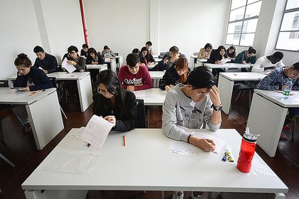 Imagen de referencia. Estudiantes presentando la prueba de admisión para el primer semestre del 2021 de la Universidad Nacional de Colombia. Foto: Cortesía de la Universidad Nacional de Colombia.