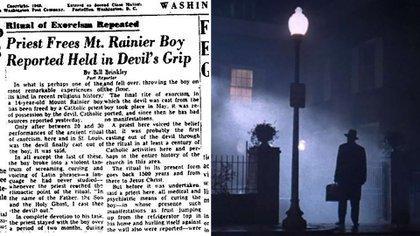 """La película """"El exorcista"""" está inspirada en un caso real que tuvo lugar en 1949"""