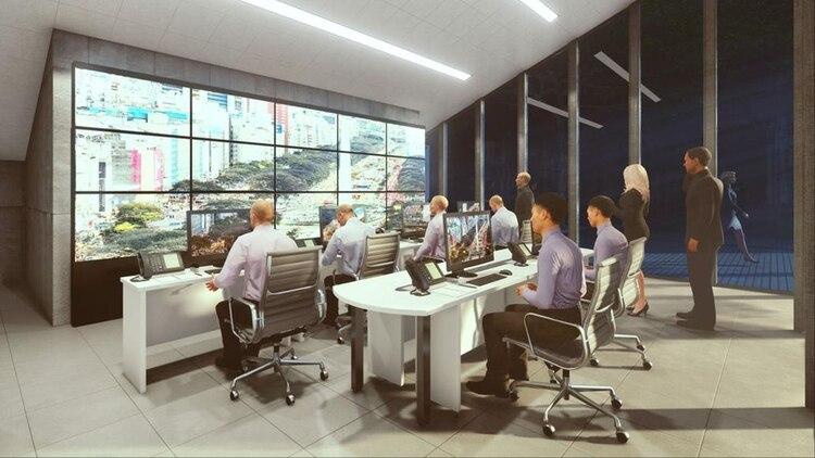 Debajo de las gradas estará elcentro de monitoreo que funcionará las 24 horas