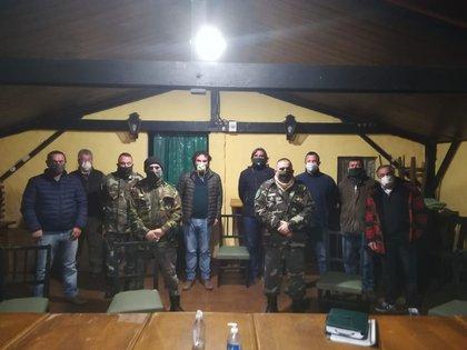 Anoche reunión en Pergamino por la inseguridad rural (Foto: Filial de Federación Agraria de Pergamino)