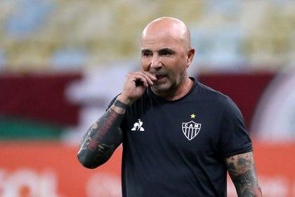 Jorge Sampaoli dejaría de ser el entrenador del Atlético Mineiro (REUTERS/Sergio Moraes)