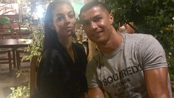 La pareja CR7-Rodríguez se muestra muy consolidada en las redes sociales