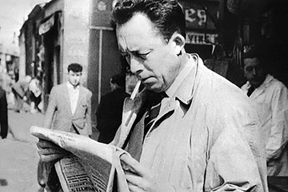 Albert Camus (foto: STF/AFP/Getty Images)