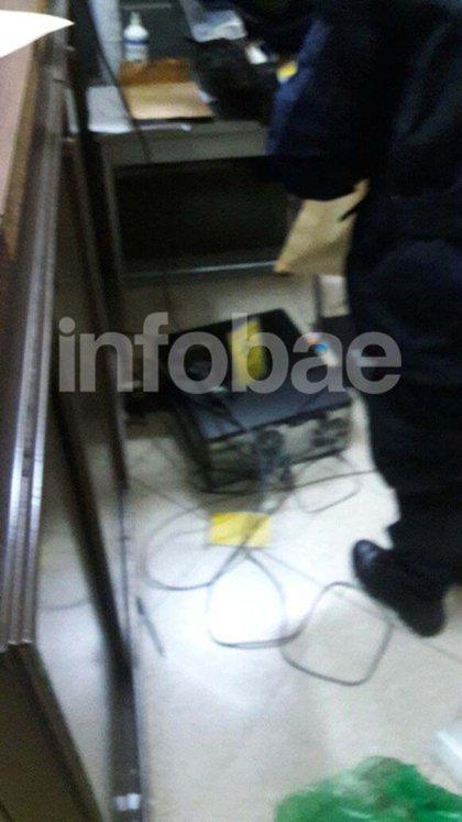 Cartasegna fue maniatado con cables