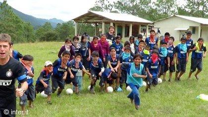 El Inter de Milán ha organizado diversos campamentos deportivos en tierras chiapanecas (Foto: INTER Official Site)