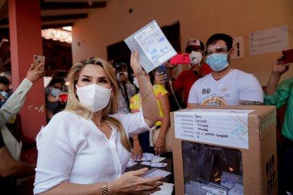 """La presidenta interina de Bolivia, Jeanine Áñez, aseguró que habrá resultados """"creíbles"""" (ABI)"""