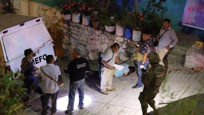 La violencia en Guerrero incrementó tras la disputa territorial entre células criminales. Aquí, un asesinato en Acapulco, Guerrero (Foto: Cuartoscuro)