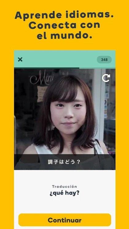 Memrise permite aprender usando videos y actividades interactivas.
