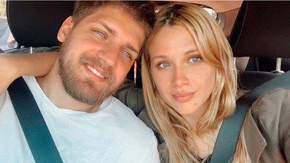 Lucas Rodríguez y Barbie Vélez (Foto: Instagram)