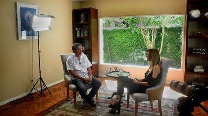 La entrevista con Viviana Canosa fue en la casa de unos amigos de Boudou en San Isidro