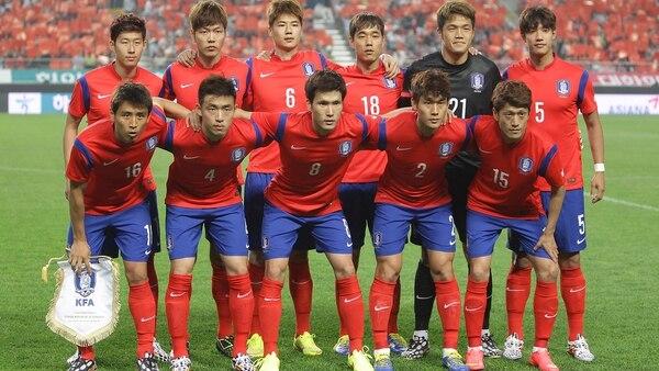 Corea del Surserá rival de Colombia en el Grupo F del Mundial