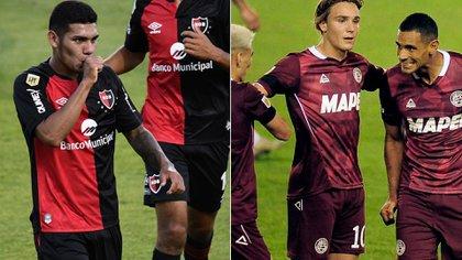 Lanús y Newell's buscan sumar como visitantes para acomodarse en sus grupos de la Copa Sudamericana: hora, TV y formaciones