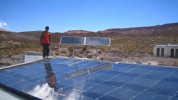 Los paneles que se instalaràn en el nuevo campo solar