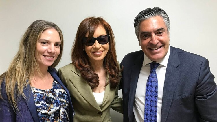 Gregorio Dalbón junto a la ex presidenta Cristina Kirchner