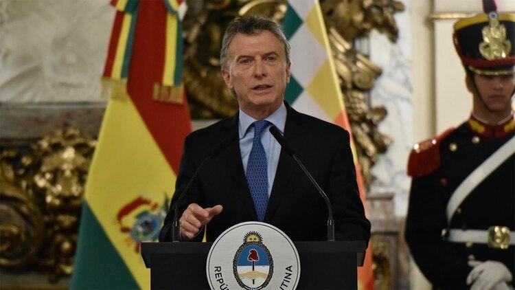 Mauricio Macri convocó a la oposición a lograr un consenso frente a la inestabilidad económica (Adrián Escandar)
