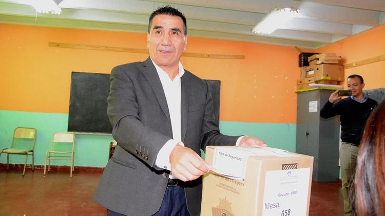 El candidato a gobernador de Unidad Ciudadana, Ramón Rioseco (Gentileza Maria Laura Pino)