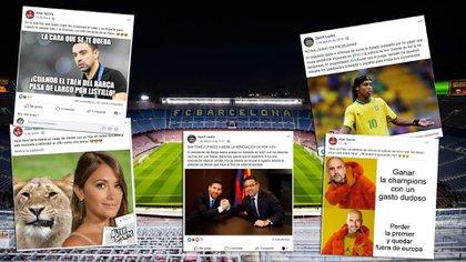 Los posteos en redes sociales que presuntamente publicó la empresa contratada por el Barcelona