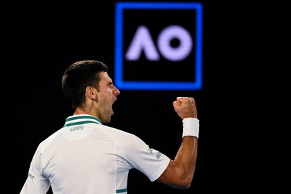 No one has won more titles than Nole in Australia (EFE / EPA / DEAN LEWINS)