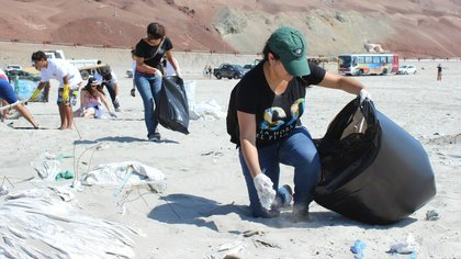 Si todos respetáramos la naturaleza, no habría residuos en las playas