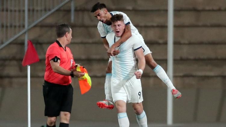 Gaich anotó cinco goles en seis partidos en los Juegos Panamericanos (Foto: REUTERS/Guadalupe Pardo