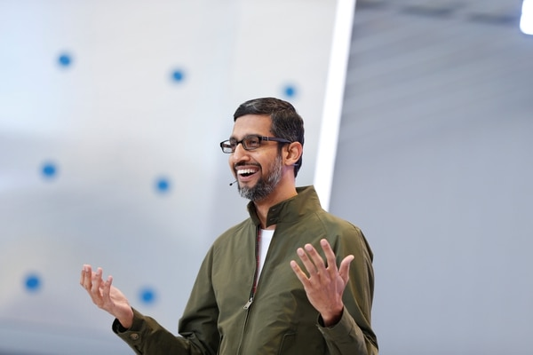 Sundar Pichai, CEO of Google (Reuters)
