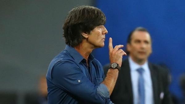 Joachim Low, el técnico de la selección de Alemania (Reuters)