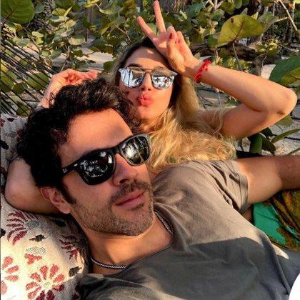 Melina Ramírez y Juan Manuel Mendoza. Foto: Instagram @juanmamendozah
