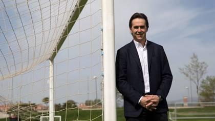 Julen Lopetegui fue jugador del Real Madrid y trabajó como DT en el equipo filial (Reuters)
