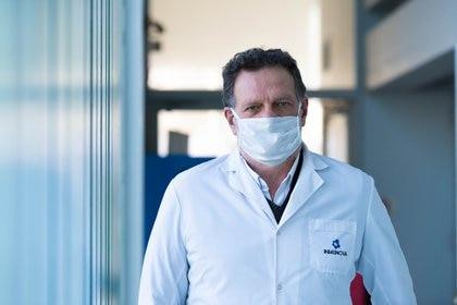 Fernando Goldbaum, director científico de Inmunova e investigador superior del CONICET (Foto: Infobae/Franco Fafasuli)