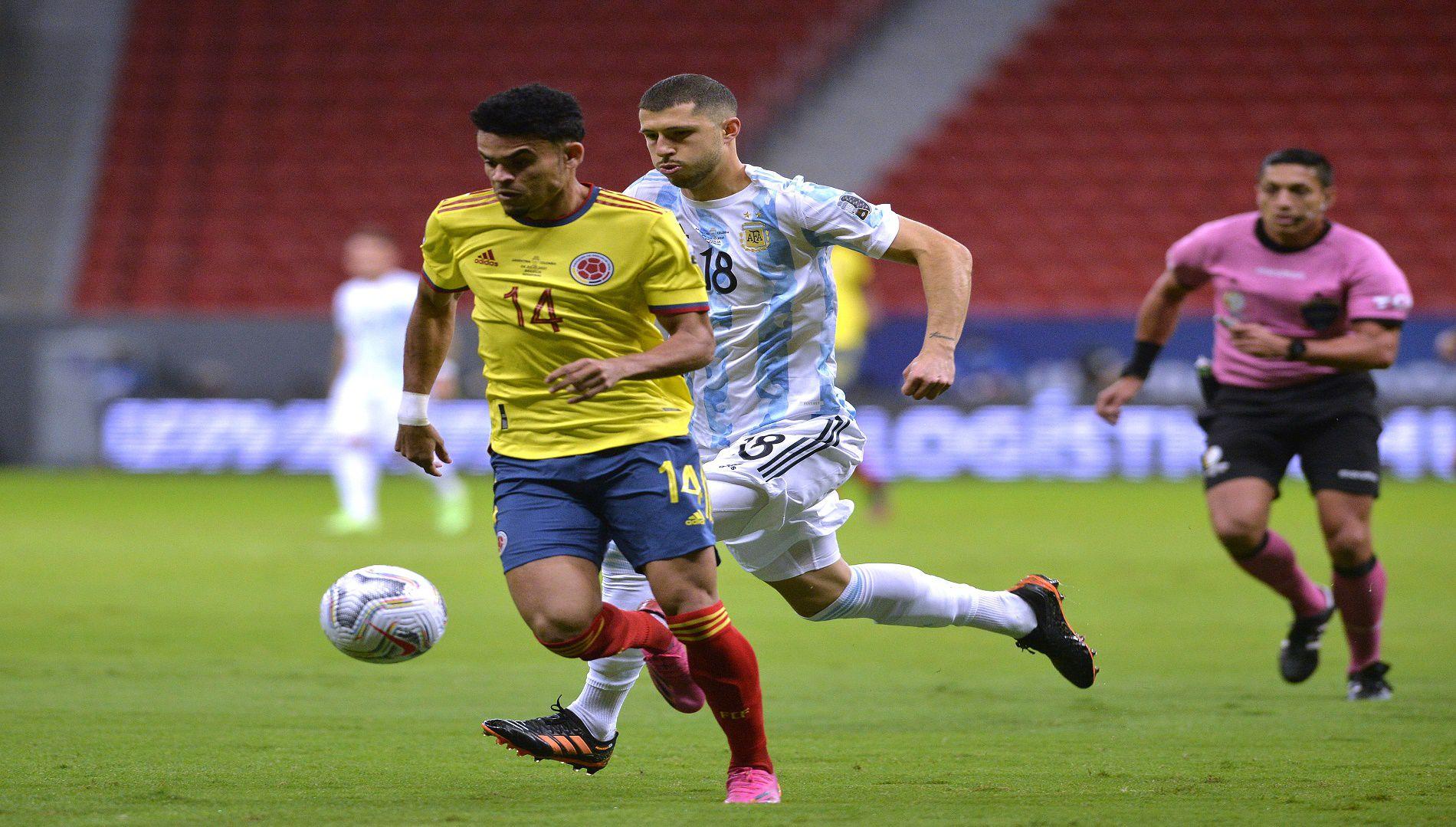Luis Díaz, delantero colombiano, respaldó a Rueda y está optimista por el camino a Catar 2022