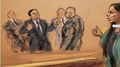 """La defensa de Joaquín """"El Chapo"""" Guzmán apelará el caso por el que fue condenado a cadena perpetua y buscará repetir el juicio (Foto: REUTERS)"""
