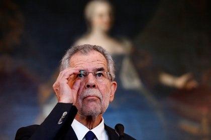 Alexander van der Bellen, el presidente de Austria, pertenece al partido ecologista Los Verdes (Reuters)