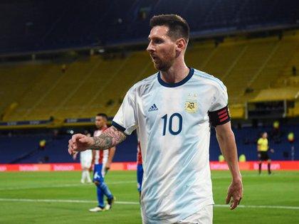 ¿Viajará Messi a Argentina para jugar con la Selección? (EFE/Marcelo Endelli)