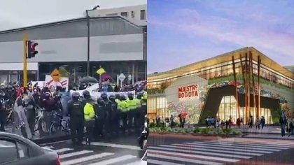 Convocan manifestaciones en Bogotá frente al centro comercial de los hijos de Álvaro Uribe