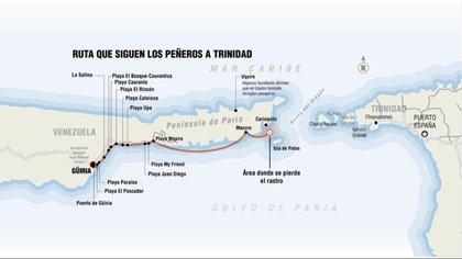 Los cuerpos de los venezolanos ahogados fueron hallados en las costas del estado Sucre
