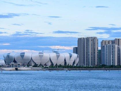 El evento se celebró en el Centro Deportivo Olímpico de Hangzhou, la ciudad donde se fundó Alibaba hace 20 años.