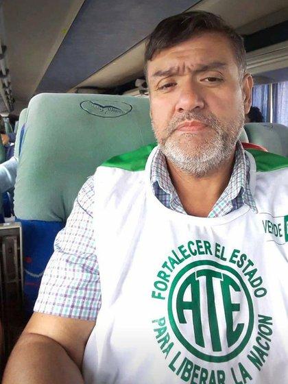 Rubén Rodríguez, una de las víctimas