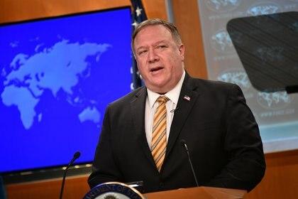 El secretario de Estado de Estados Unidos, Mike Pompeo. Foto: Mangel Ngan/REUTERS
