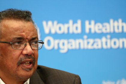 El director de la Organizacion Mundial de Salud Tedros Adhanom Ghebreyesus (REUTERS/Denis Balibouse/archivo)