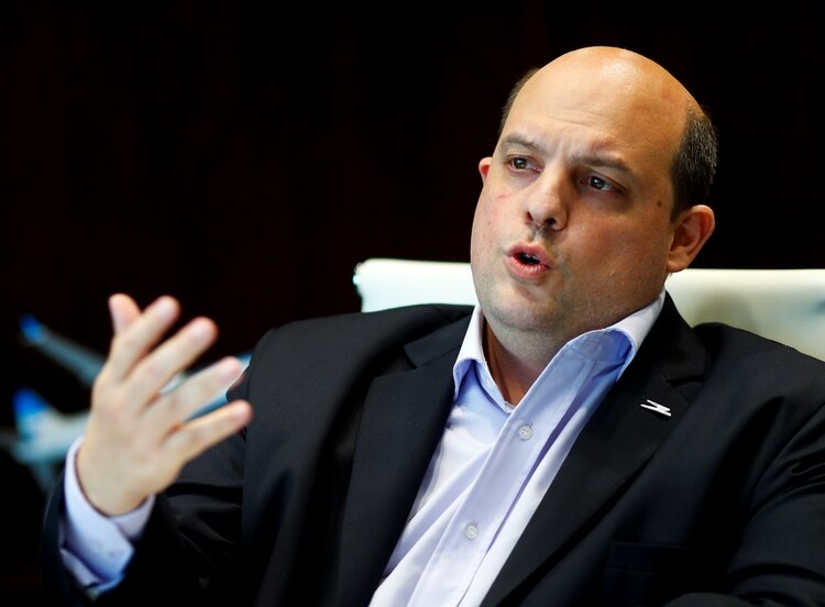 Pablo Ceriani, presidente de la empresa (REUTERS/Agustin Marcarian)