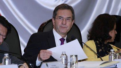 El secretario de Educación Pública de México, Esteban Moctezuma. (Foto: SEP)