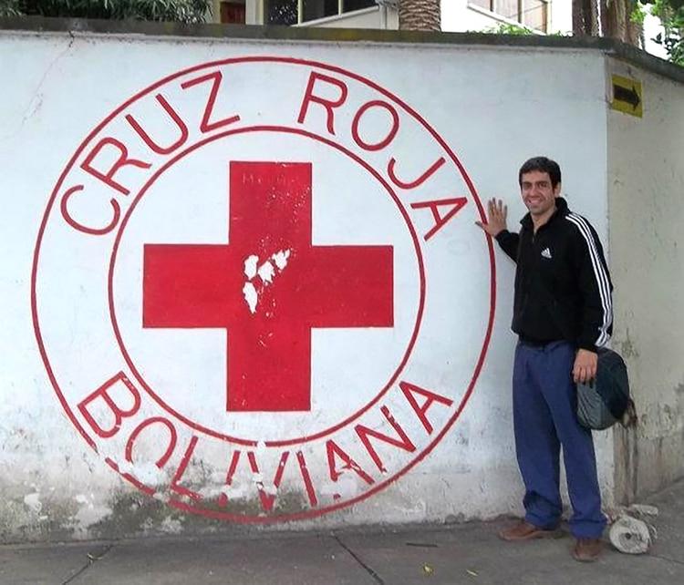 Chamorro, en un viaje que realizó a Bolivia para hacer un estudio sobre el brote de dengue en la frontera con Argentina