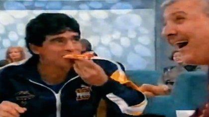 Mauro Viale forjó durante muchos años una buena relación con Diego Maradona, que visitó varias veces sus programas