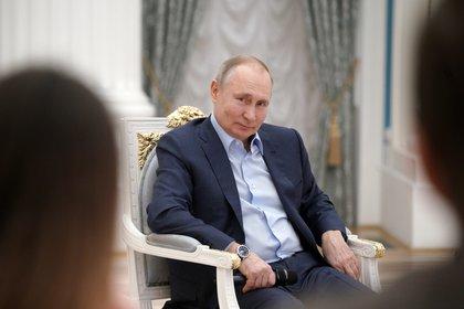 El presidente ruso Vladimir Putin. Sputnik/Alexei Druzhinin/Kremlin via REUTERS. THIS IMAGE HAS BEEN SUPPLIED BY A THIRD PARTY.