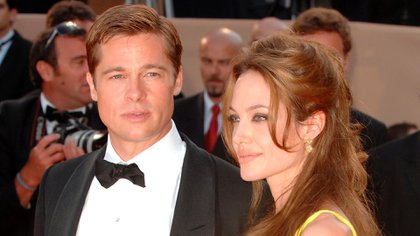 Mandatory Credit: Photo by David Fisher/Shutterstock (666404x) Brad Pitt, Angelina Jolie 'Ocean's 13' film premiere at the 60th Cannes Film Festival, Cannes, France - 24 May 2007