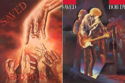 "Las dos tapas de ""Saved"""