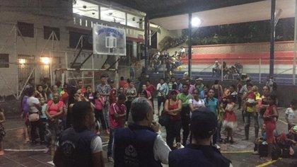 Imagen de referencia. Defensoría del Pueblo atiende a personas desplazadas en el Catatumbo. Foto: Defensoría del Pueblo Regional Ocaña.