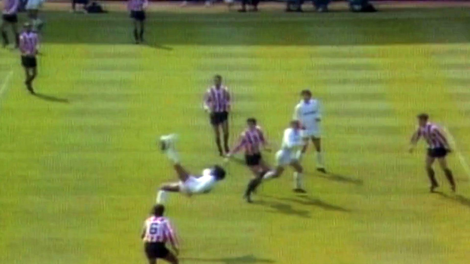 Golazo de Hugo Sánchez en 1988 (Foto: Especial)
