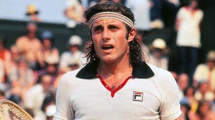 Guillermo Vilas ganó el Masters en 1974 (Colorsport/Shutterstock)