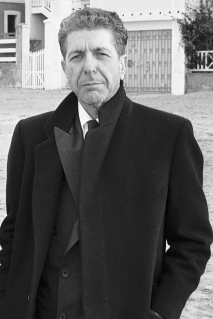 Leonard Cohen. Foto del año 1988